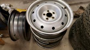16 inch steel rims 5x100