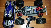 Mint Condition RC traxxas 1/10 EMAXX 4x4 350 OBO