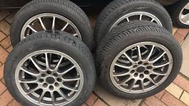 Renault Clio Multi-fit Alloy Wheels 15""