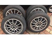 "Renault Clio Multi-fit Alloy Wheels 15"""