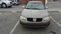 2004 NISSAN SENTRA $1000 O.B.O WITH EMISSIONS NEED IT GONE ASAP!