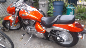 For sale or trade: SUPER LOW KMS 2010 Suzuki Boulevard m50