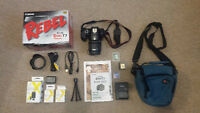 Used Canon T3- Tons of Accessories