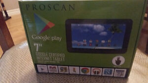 Proscan Google Play 7 inch Tablet