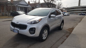 LEASE TAKEOVER 17 Kia Sportage LX AWD  $344.25/month *INCENTIVE*