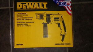 Drill Dewalt electrique a percussion