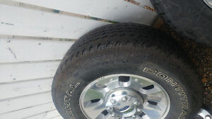 Ford f 350 rims and tires
