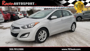 CERTIFIED 2015 ELANTRA GT GLS - EXT WAR. TO SEPT 2023- YORKTON