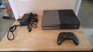 Limited Edition Halo Xbox One System With 1 tb Hard Drive