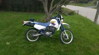 Yamaha XT350 Enduro Dual Sport motorcycle street legal