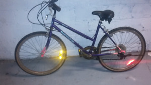 Ladies mountian bike forsale or trade