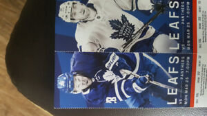 2 Tickets Toronto Maple Leafs v Florida Panthers March 25th 2019
