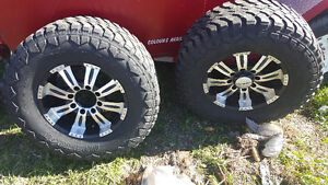 Lt325/65R16 winter tires and rims