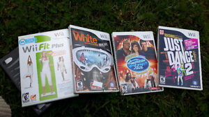 Wii, games, and assersories! $100 OBO