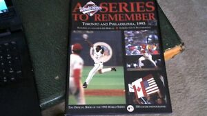 TWO TORONTO BLUE JAYS 1993 WORLD SERIES BOOKS