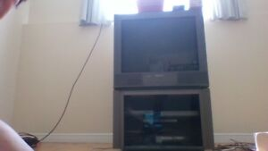 SONY TV and Stand for sale