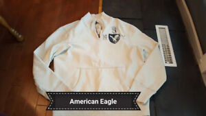 Men's large American Eagle pullover sweater