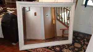 Huge Decorative bevelled mirror