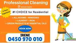 PROFESSIONAL, ENTHUSIASTIC, DOMESTIC CLEANER Albert Park Port Phillip Preview