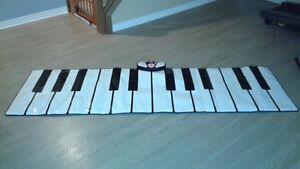 Giant floor keyboard brand new
