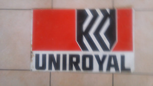 Old Uniroyal sign