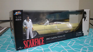NEW SCARFACE DIE CAST CADILLAC
