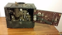 Antique 1940 Bell & Howell tube amplifier cinema projector