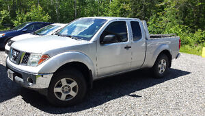 2007 Nissan Frontier 4x4 possible échange