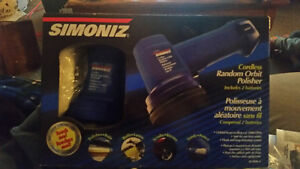 Simoniz cordless random orbit polisher