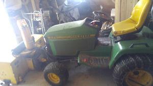 tracteur john deere 445