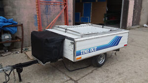 Time Out Deluxe tent trailer