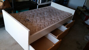 Captain's Bed and Mattress - Can Deliver