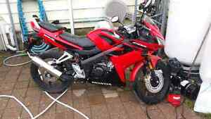 2008 Honda CBR125R low km