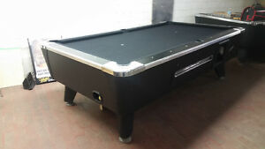 Dynamo coin opp pool table for sale! 1400 oBo.
