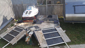 DOUBLE TRAILER drive on drive off Windsor Region Ontario image 3