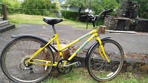 Yellow Ladies Schwinn Mountain Bike
