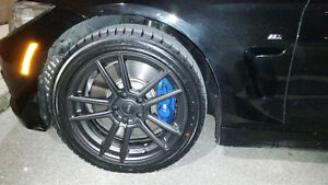 BMW 3,4 SERIES WINTER WHEELS AND TIRES PACKG MOUNTED (FREE RACK)