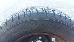 175/70 R 13 WINTER TIRES!!!! With rims Prince George British Columbia image 3