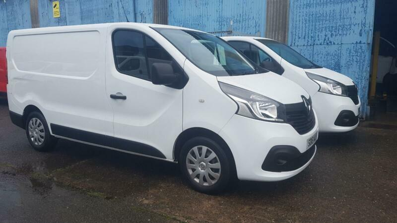 10609df7ff Finance Available 20i6 Renault Trafic 1.6dCi Low Roof Van SL27 115 Business+