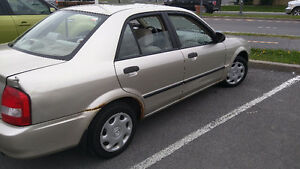 2003 Mazda Protege LX Sedan - 70 000km only ! 4DR automatic !