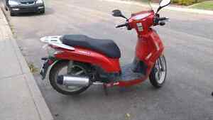 2008Kymco people 125s great scooter
