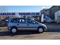 2005 VAUXHALL ZAFIRA 7 SEATERS NOW £1495