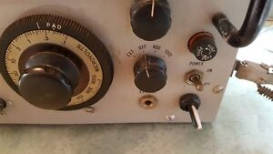 Vintage 1951 US Military Signal Corps Signal Generator TS-497B West Island Greater Montréal image 4