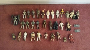 -MASSIVE TOY COLLECTION/Includes STAR WARS, HOTWHEELS, SlOT CARS