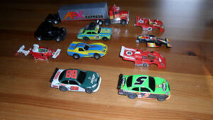 SLOT CARS - AFX, TYCO, TOMY, AURORA, TJET, HOT WHEELS, IDEAL,