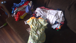 HUGE LOT. Baby boy 0-6m clothes.