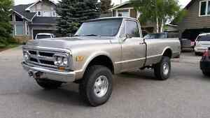 1970 GMC k2500 3/4 ton 4x4 truck...trade only for wake boat