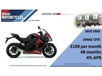 SUZUKI GSX-S1000FAL8 WITH AN EXTRA 500 OFF LIMITED OFFER