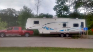 Truck and fifth wheel for sale. In excellent shape  $35000.00