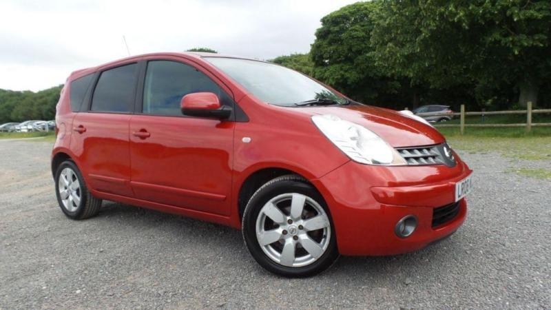 2008 08 nissan note 1 6 tekna 5d auto 109 bhp in sutton coldfield west midlands gumtree. Black Bedroom Furniture Sets. Home Design Ideas